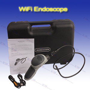 Witson flexible Recordable Video endoscope with 2.7inch monitor and 5.5mm camera head