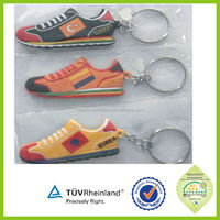 3d mini sports sneaker running shoe keychain