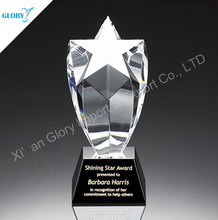 Quality New Engraved Crystal Star Awards for Award Show