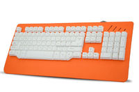 BST-808 2015 Hot Best Selling 26 Anti-ghost Keys USB Led Backlit / Illuminated metal mechanical gaming Computer Keyboard