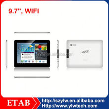 2G RAM A31S Quad core,1024*768 screen,0.3+2.0 camera,9.7inch tablet pc