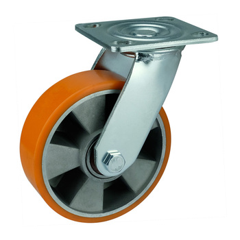 WBD 5 inch 350kg load capacity ou outside aluminum caster wheel