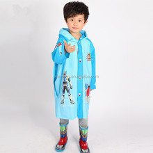 2016 new style wholesale clear waterproof kids disposable rain coat poncho