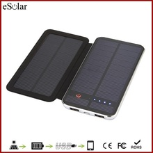 High Quality mobile solar charger with foldable solar panel , cheapest 10000mAh mobile phone solar charger for smartphone iphone