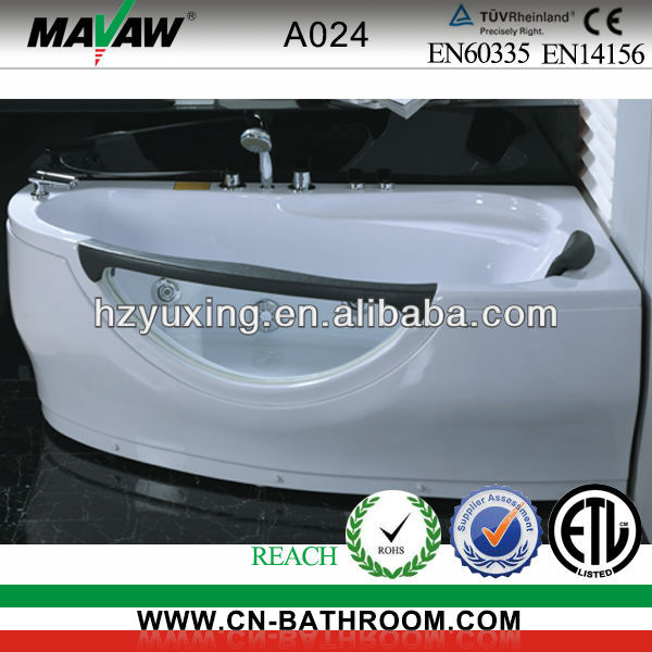 double persons massage bath tub
