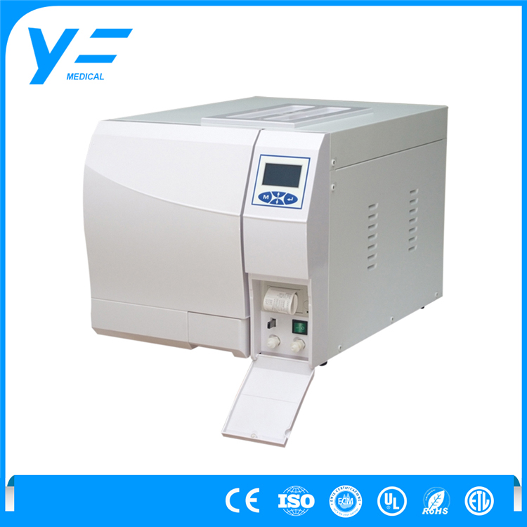 18L Class B Full Automatic Operation 3-times Pre-vacuum High Pressure Sterilizing Autoclave Machinery