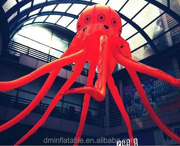 Party/Stage decoraton inflatable tentacles ,giant inflatable octopus
