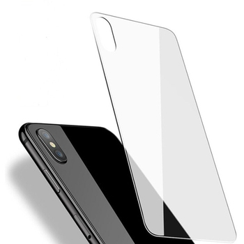 Transparent Back cover Screen Protector For iPhone X Clear Back Cover Phone Tempered Glass For iPhoneX