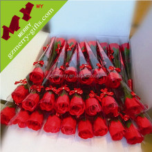 Active demand plastic artificial rose flower in stock
