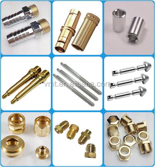 Vmt shenzhen custom design cnc lathe precision small brass