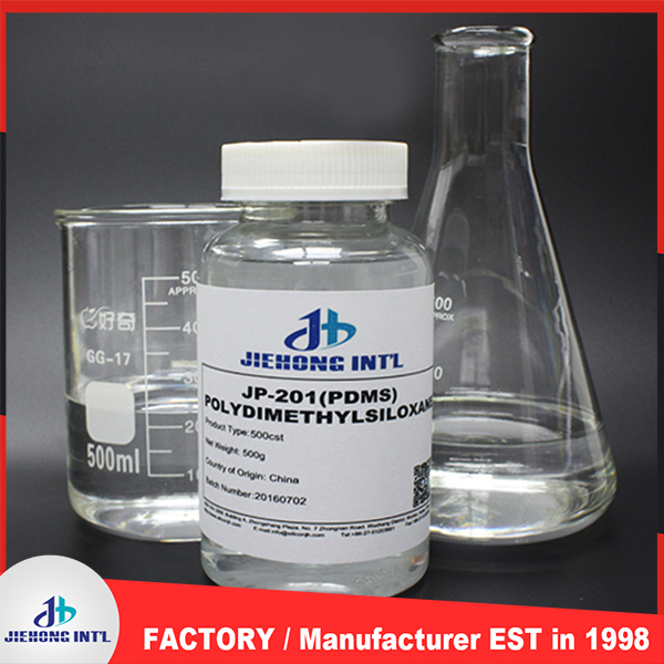 JH-201 polydimethylsiloxane fluid /excellent silicone lubricant oil in good price