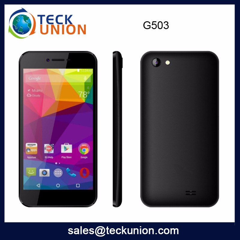 G503 5.0Inch Low Cost Mobile Phone Android High Quality Cheap 4G LTE Smart Cellphone Wholesale