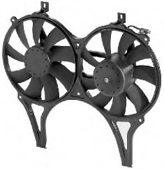 Radiator Fan OEM#:001 500 16 93 for MERCEDES-BENZ