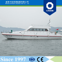 CE Certification and Fiberglass Hull Material 18.8m/62ft' 30 Persons Passenger Boat with Prices