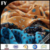 Factory direct digital print silk fabric with your designs