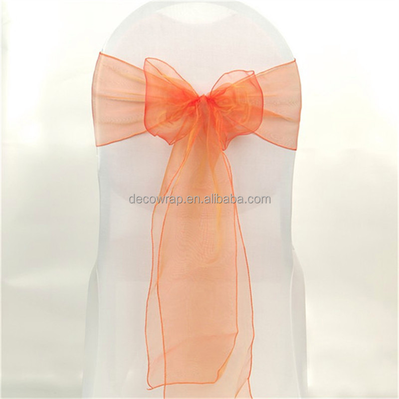 Wedding Organza Chair Sashes for sale