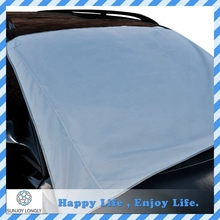 UV Protection Silver Polyester Car Window Cover