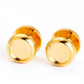 Wholesale metal gold tuxedo studs set for clothing