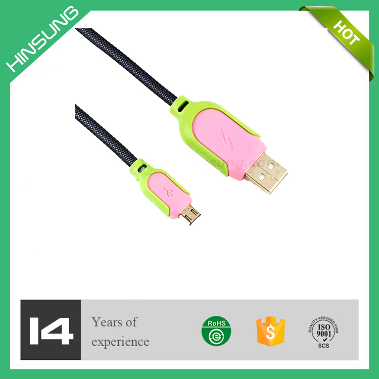 For smart phone 1.5m usb 2.0 am to micro cable