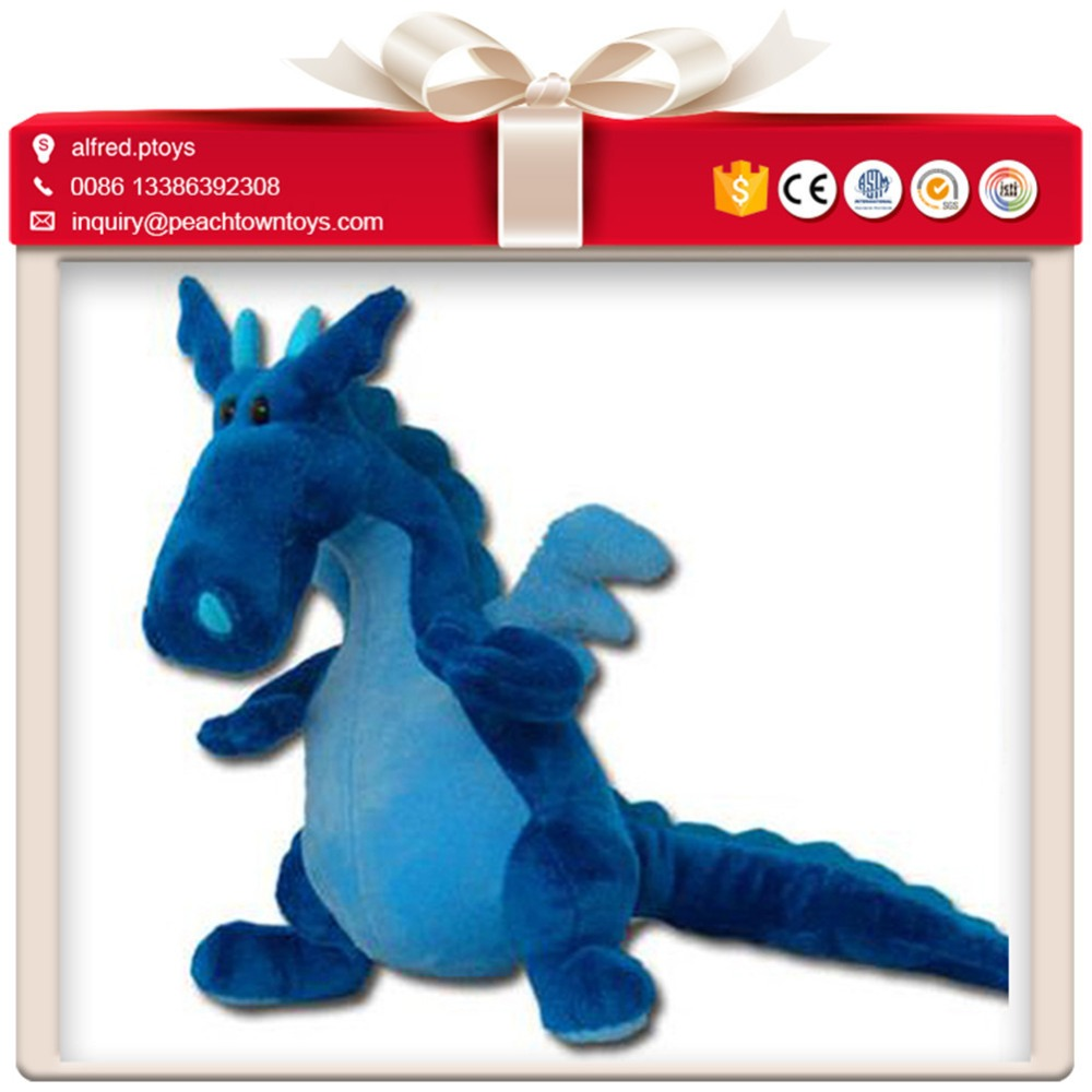 A lot different styles wholesale stuffed dragon