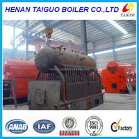 horizontal style and low pressure coal boiler/ steam output