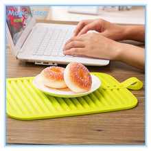 Colorful Silicone Heat Resistant and Antistatic Table Plate Mat