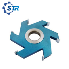 Slot Groove Cutter For Vertical Milling Machine/Four-Side Planer Machine/ Double End Milling Machine with Carbide Tips