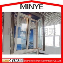Plastic Vinyl frame welded finished PVC window Tilt turn windows