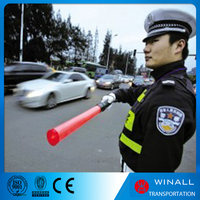 Rechargeable LED traffic baton