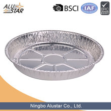 high quality large size food aluminium foil tray for food packaging