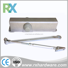 Transom Sliding Aluminium Alloy Door Closer For Wooden Door