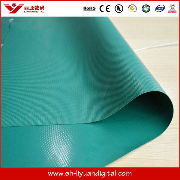 High Quality PVC Tarpaulin / PVC Coated Canvas Tarpaulin