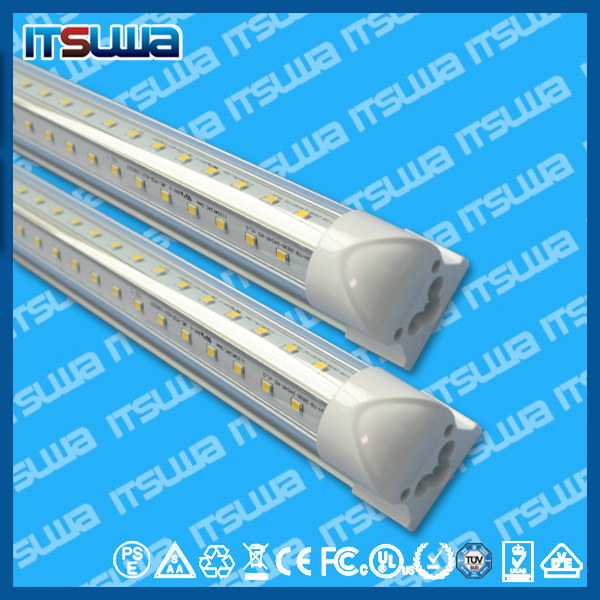 Taiwan Epistar SMD 2835 t8 18-19w led tube light with assembly components