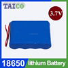 Fast Shipping 18650 3.7v 9000mah Li ion Battery Pack for Solar Speaker