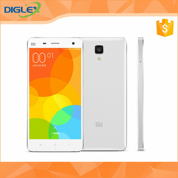 Original Xiaomi Mi4 Xiaomi-Mi4 Quad Core Qualcomm Snapdragon801 2.5GHz M4 Mi 4 1920X1080 JDI 2GB 16GB 4G FDD LTE Cell Phone