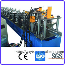 Professional manufacturer of Passed CE and ISO YTSING-YD-7104 steel rain gutter roll forming machine/roll former