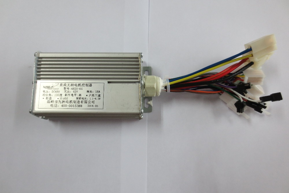 Electric Scooter Dc Motor Controller 48V - 84V Programmable