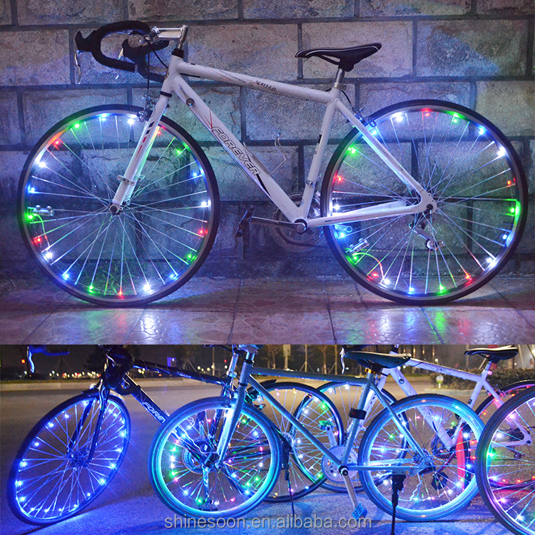 Bike Accessories Wholesale Bike Light LED Programmable Wheel Light LED Glow Sticks LED