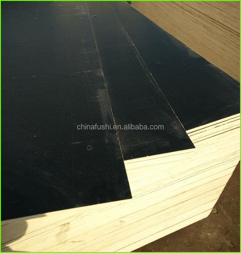 9mm 12mm construction black film faced plywood for Maldives