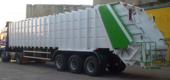 Waste Carrier Semi Trailers from 52m3, 66m3, 72m3 to 83m3