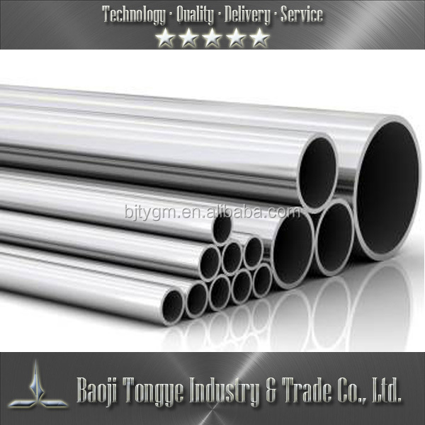 Factory directly asme sb 338 gr2 titanium tube price