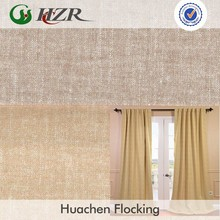 Polyester pongee printed blackout curtain lining fabric with free fabric swatches