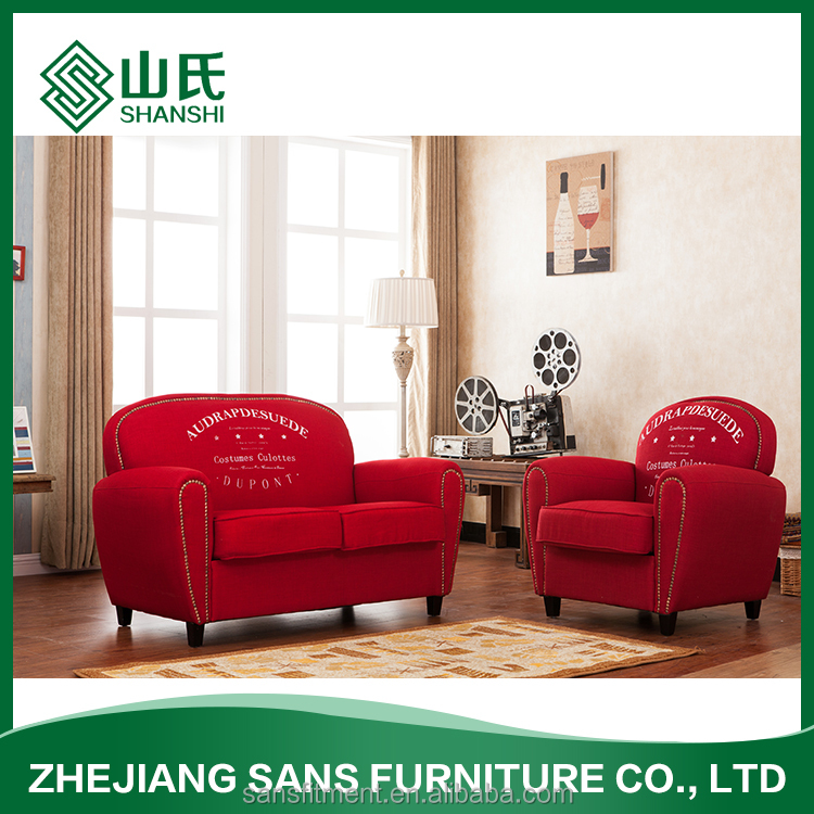 Classic European style sofa cheap fabric soft sofa living room furniture
