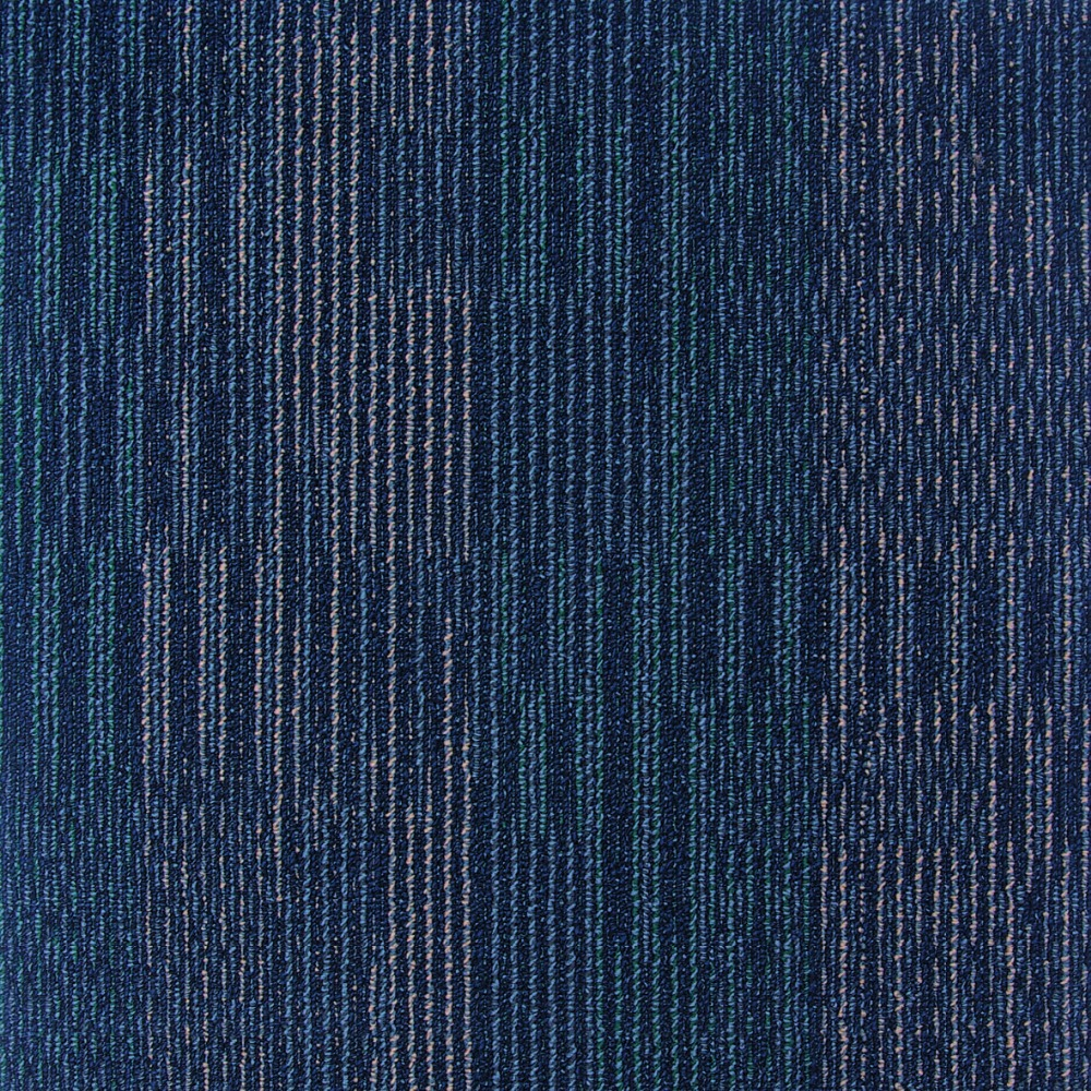 Blue Pattern 50x50 cm Polyamide Carpet for Office FUJI506