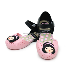 KS30501A Kids Shoes Baby Girls Princess Flat Sandals Cute mellisa jelly shoes