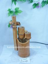beautiful water fountain bamboo craft