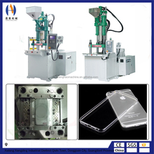 Booster cylinder vertical Tpu cell phone cover making machine supplier for window
