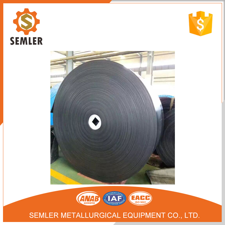 Bucket Elevator Wide Oil Resistant Endless Rubber Conveyor Belt