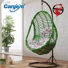 Custom Made Indoor Wooden Swing Chair For Kids Swing Rattan Egg Chair