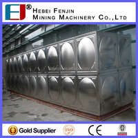 Drinking Water Tank, Square Water Storage Tank, SS304 Stainless Steel Water Tank